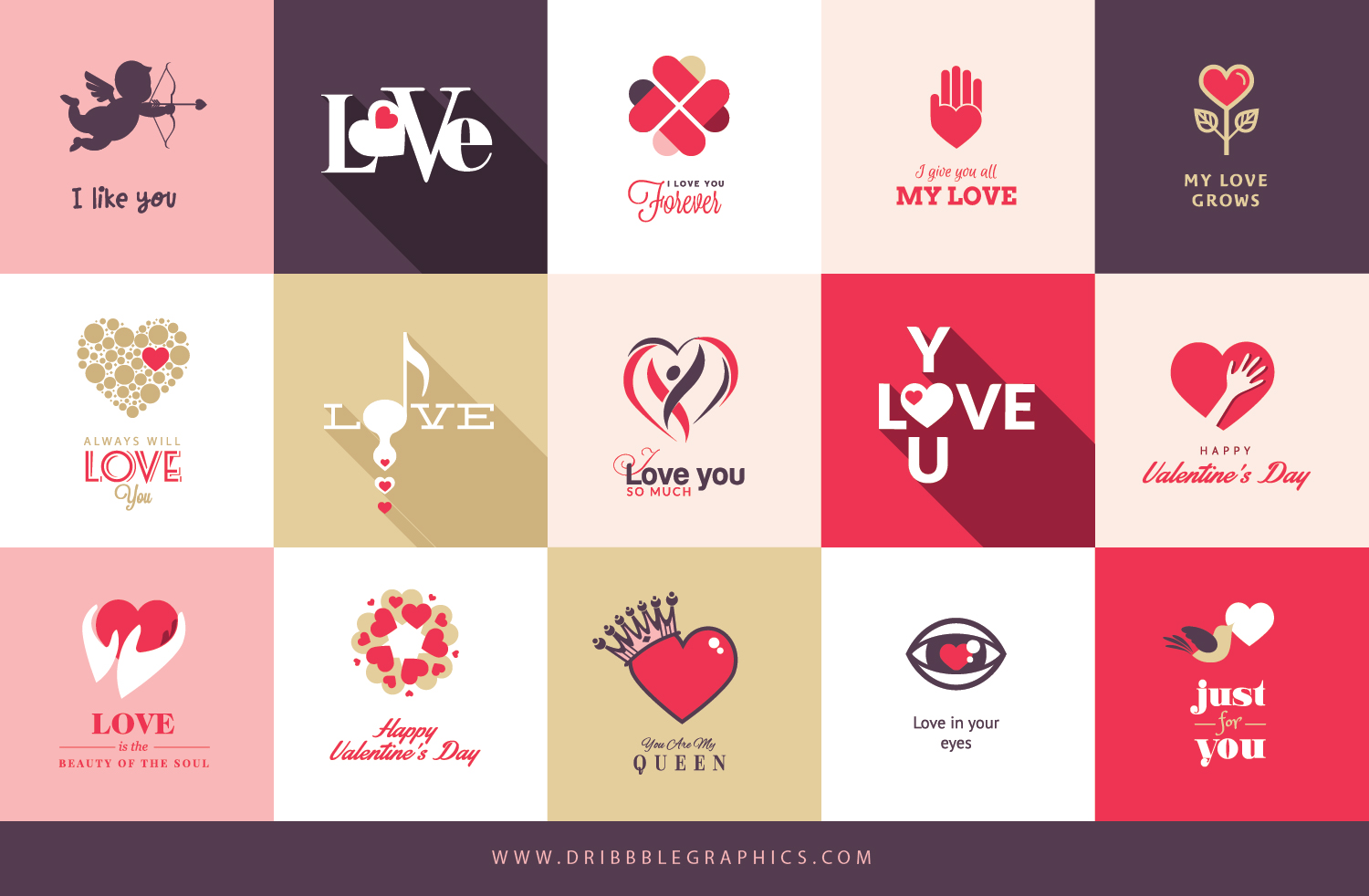 Free 15 Cool Valentines Day Cards