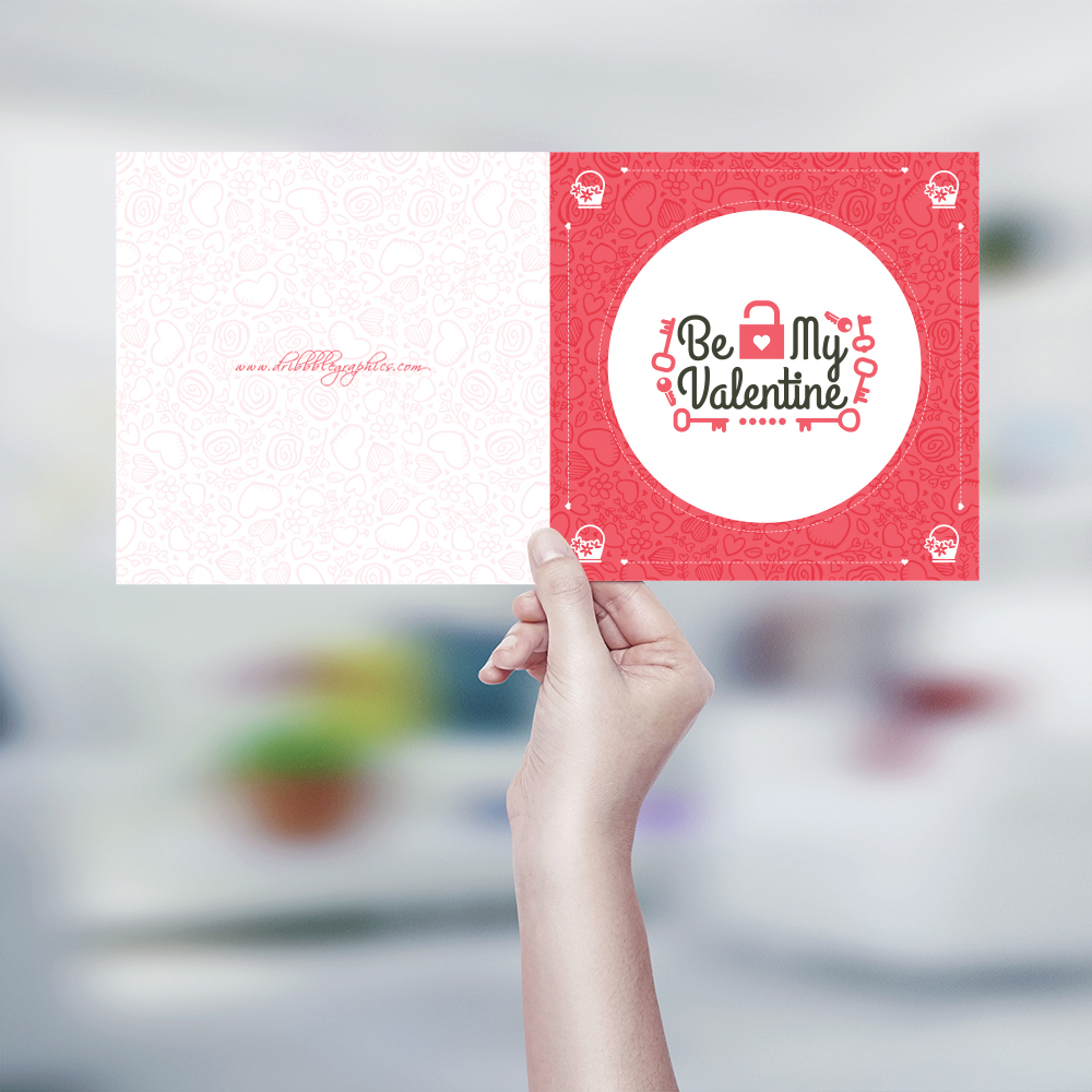 Free-Be-My-Valentine-Greeting-Card-Design-Template