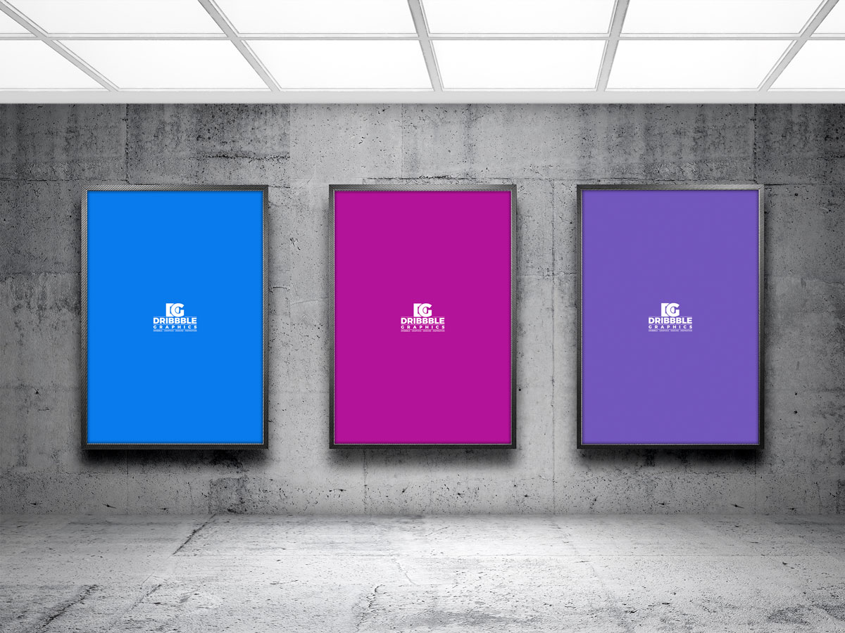 Free-PSD-Indoor-Advertising-Poster-Billboard-Mockup