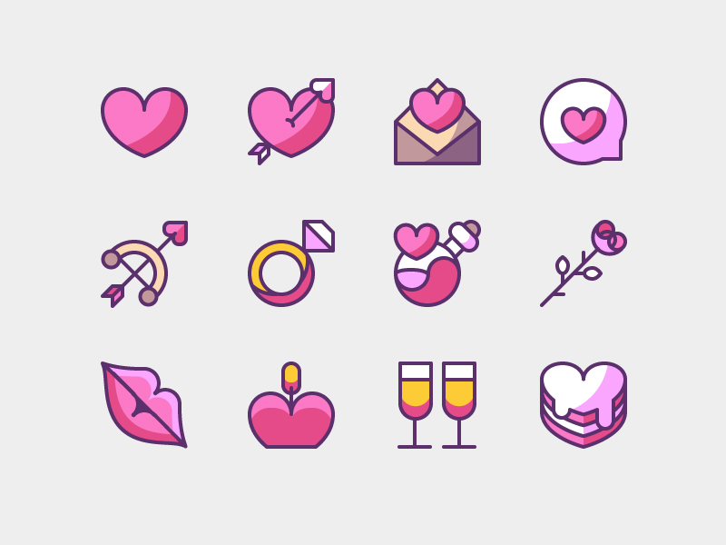 Free-Beautiful-Valentine-Icons-1