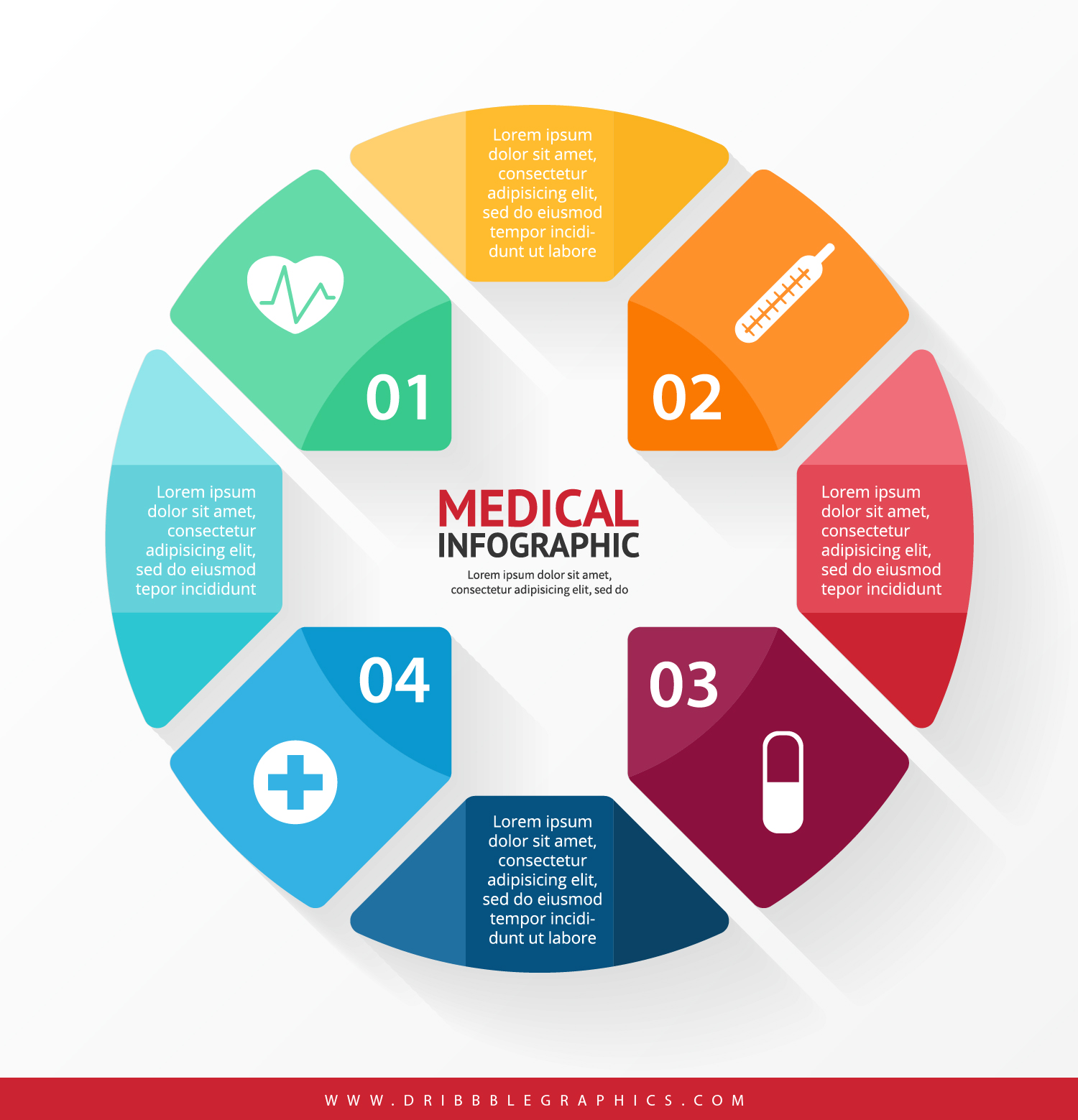 Free Medical Infographic Design-01