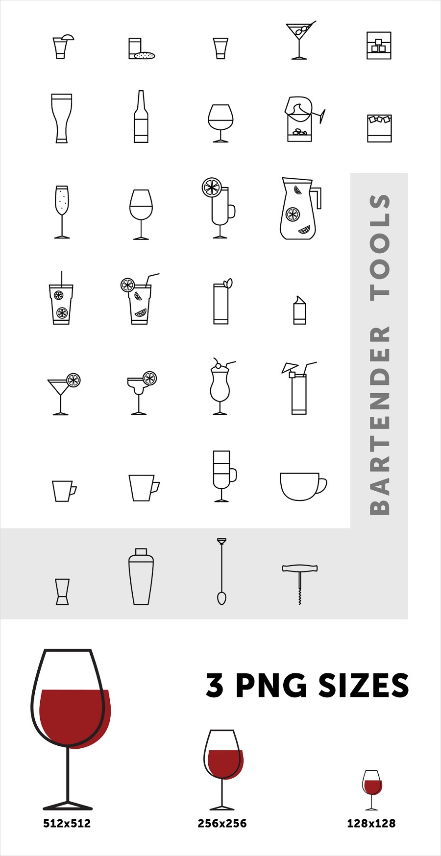 Free-Bar-Drinks-Icons-in-Vector-Format-2