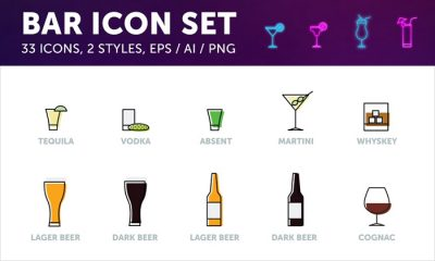 Free-Bar-Drinks-Icons-in-Vector-Format-300
