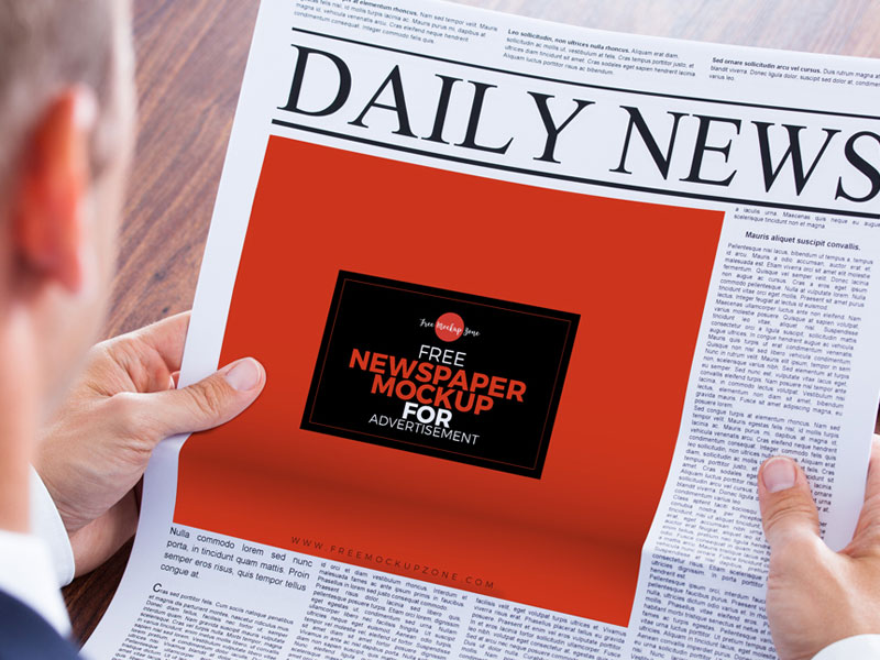 Free-Newspaper-MockUp-PSD-Template-For-Advertisement