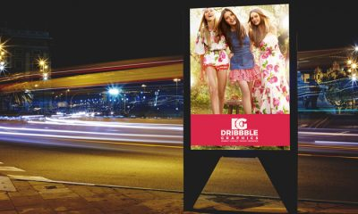 Free-Roadside-Billboard-MockUp-For-Branding-&-Advertisement-2017
