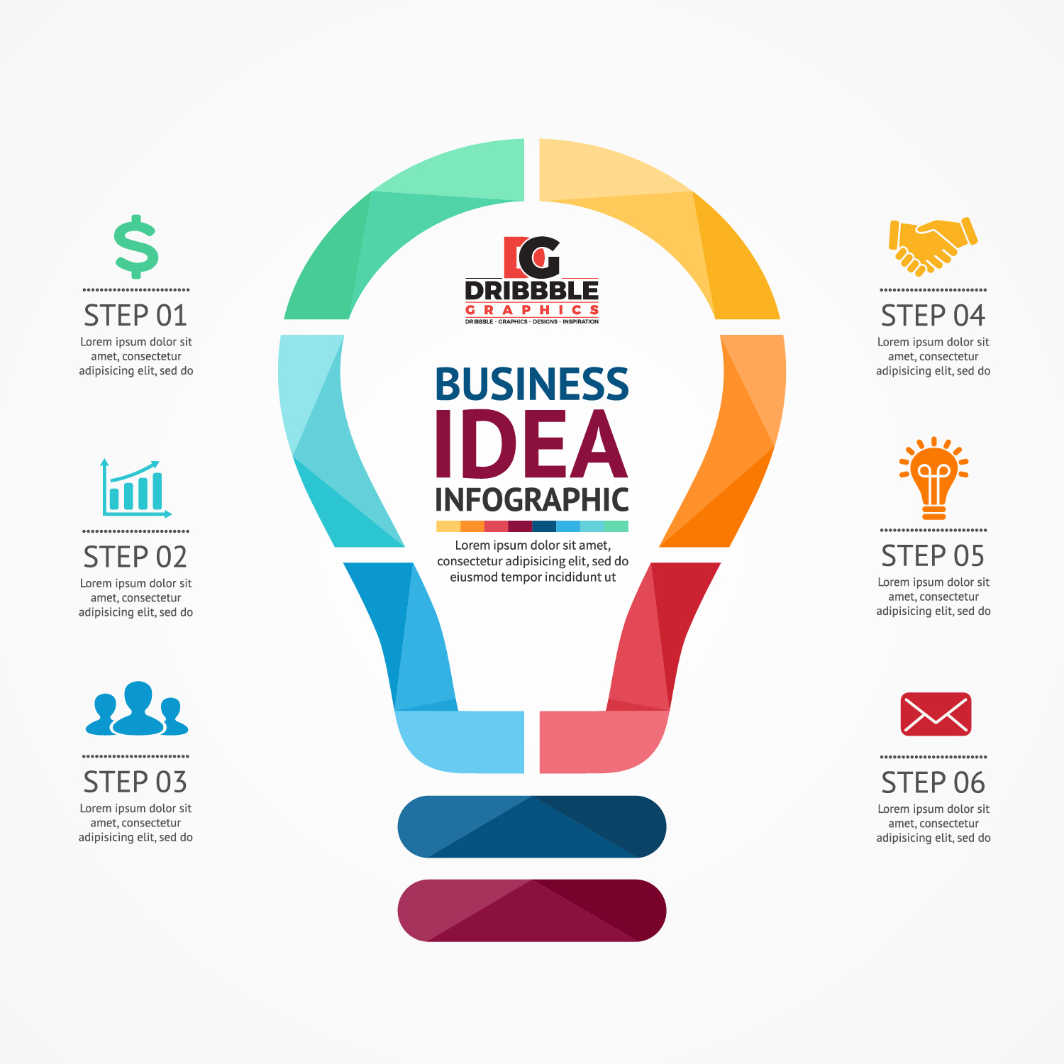 Free Business Infographics Vector Graphics-01