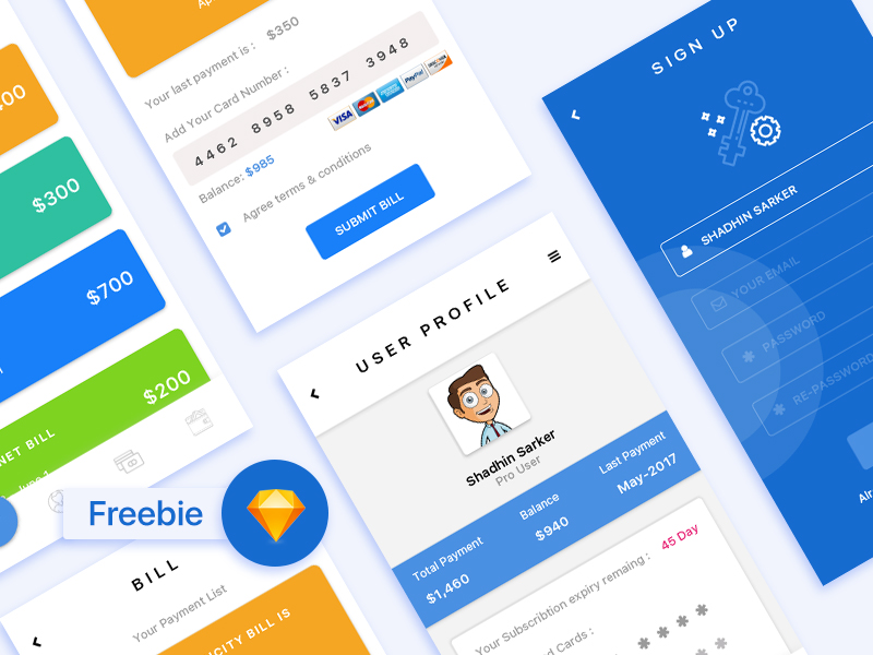 Free-Payment-Apps-Sketch-File