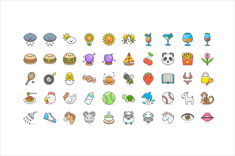 Free-100-Cute-Emoji-Vector-Icons-Collection-2