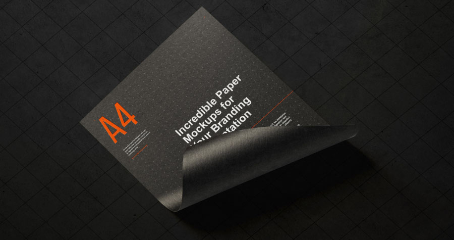 Free-A4-Paper-Branding-Mockup-For-Flyers-&-Letter-Head-1