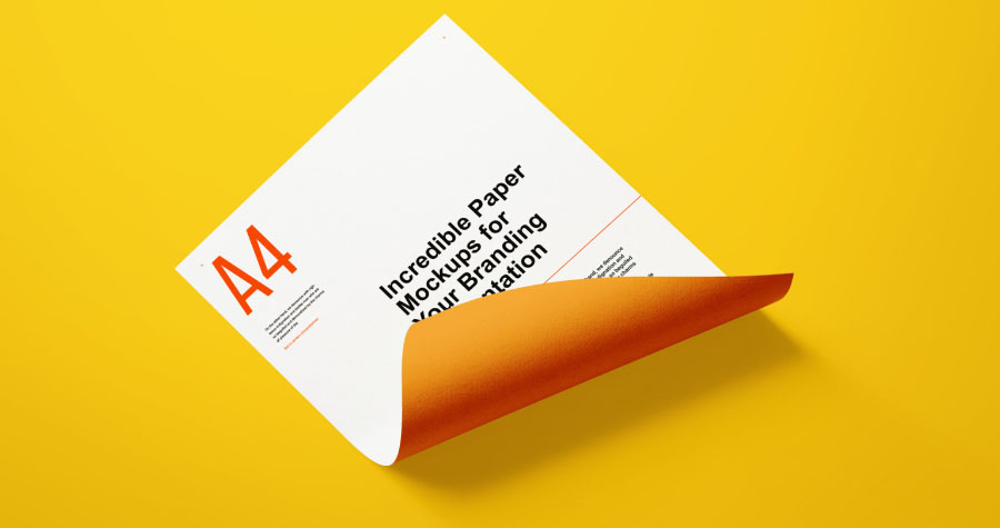 Free-A4-Paper-Branding-Mockup-For-Flyers-&-Letter-Head-2