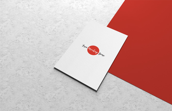 Free-Business-Card-Mockup-on-Marbal-Background