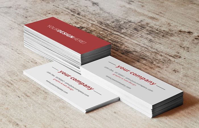 Free-Business-Card-Stack-Mockup