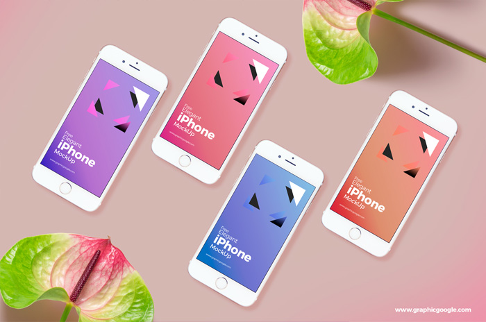 Free-Elegant-iPhone-Mockup-For-UI-Presentation