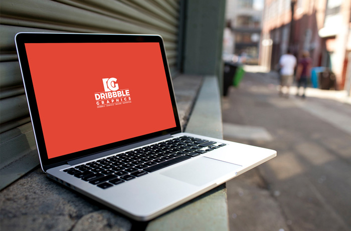 Free-Laptop-MockUp-on-City-Street
