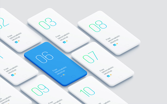 Free-Minimalistic-Phone-Mockups-for-Presentations
