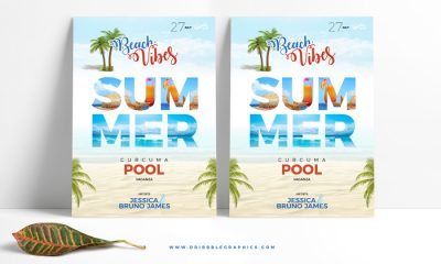 Free-Summer-Beach-Flyer-Template-Design