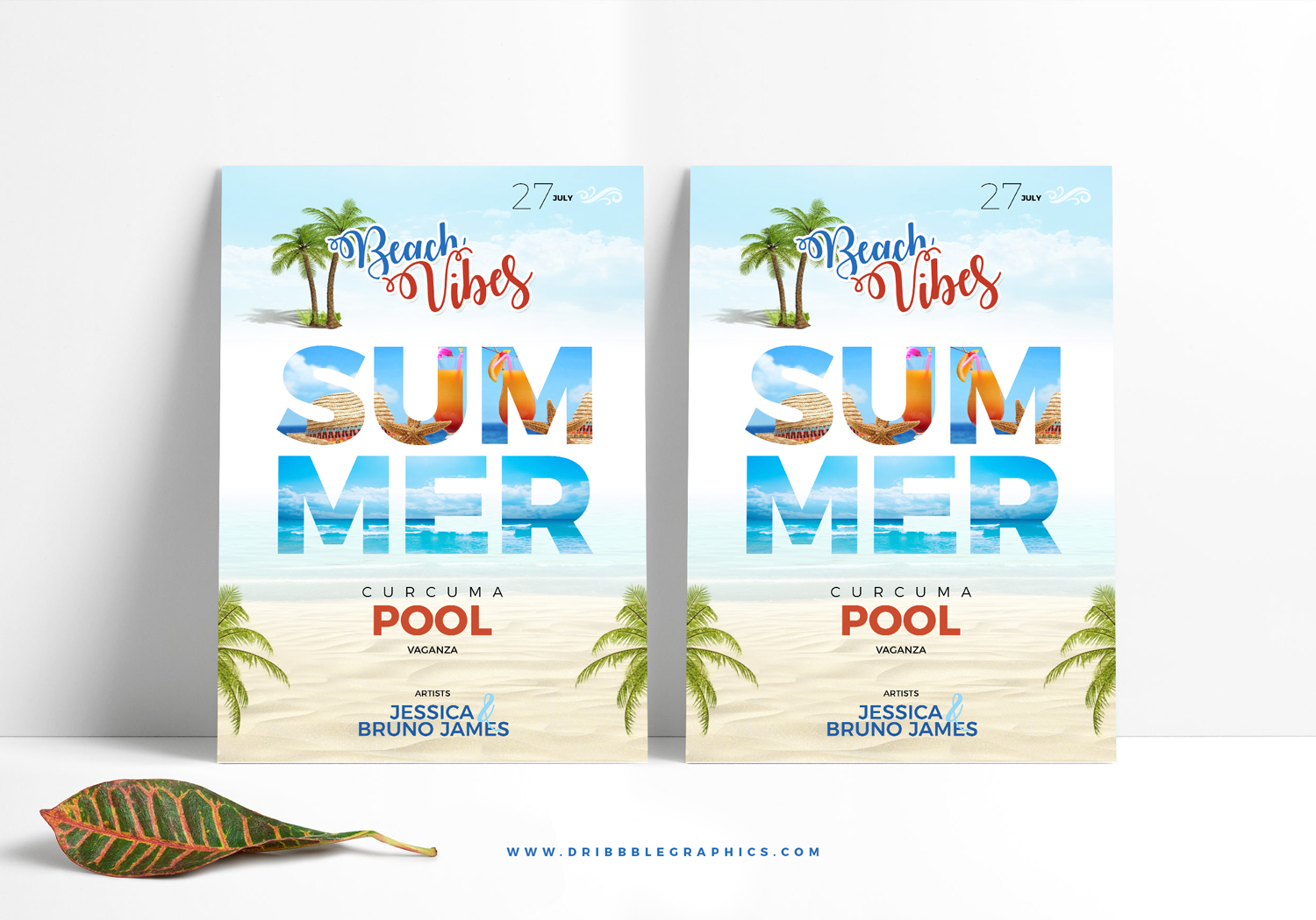Free-Summer-Beach-Flyer-Template