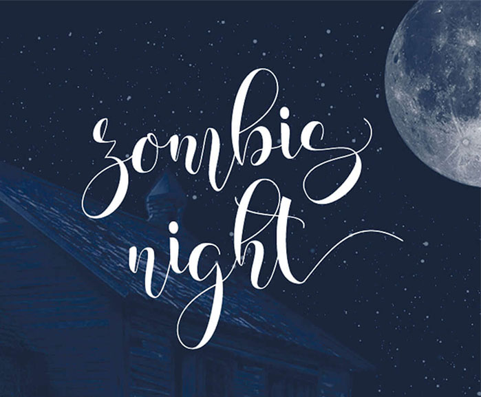Zombig-Night-A-New-Typeface