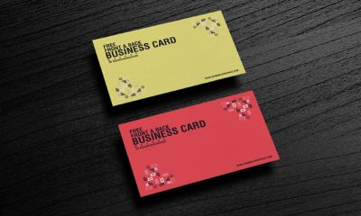 Free-Front-&-Back-Business-Card-Mockup-on-Wooden-Background-300