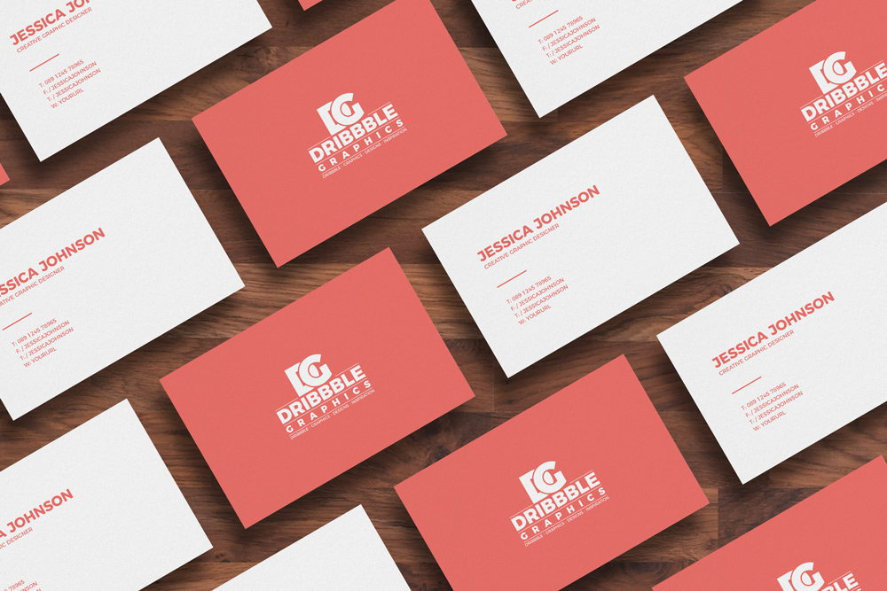 Free isolated business card mockup dribbble graphics free isolated business card mockup reheart
