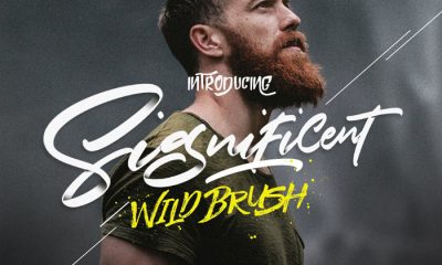 Free-Significent-Wild-Brush-Demo-Font