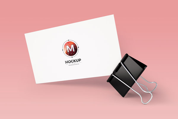 Clipped-Business-Card-Mockup
