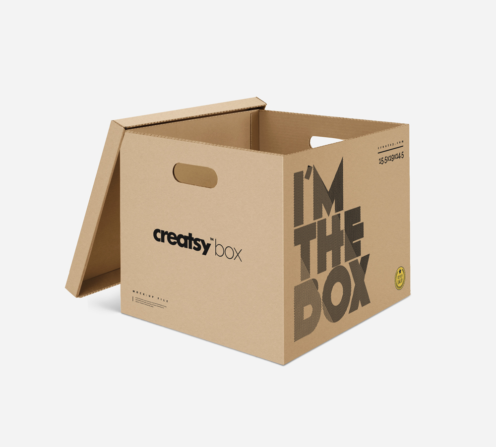Free-Packaging-Box-With-Lid-Mockup