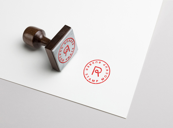 free rubber stamp mockup psd template dribbble graphics