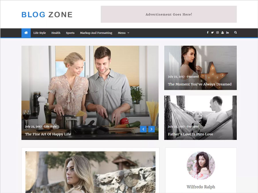 Blog-Zone-Clean-Colorful-&-Responsive-WordPress-Blog-Theme