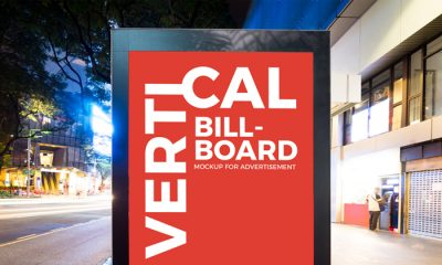 City-Street-Vertical-Billboard-Mockup-For-Advertisement