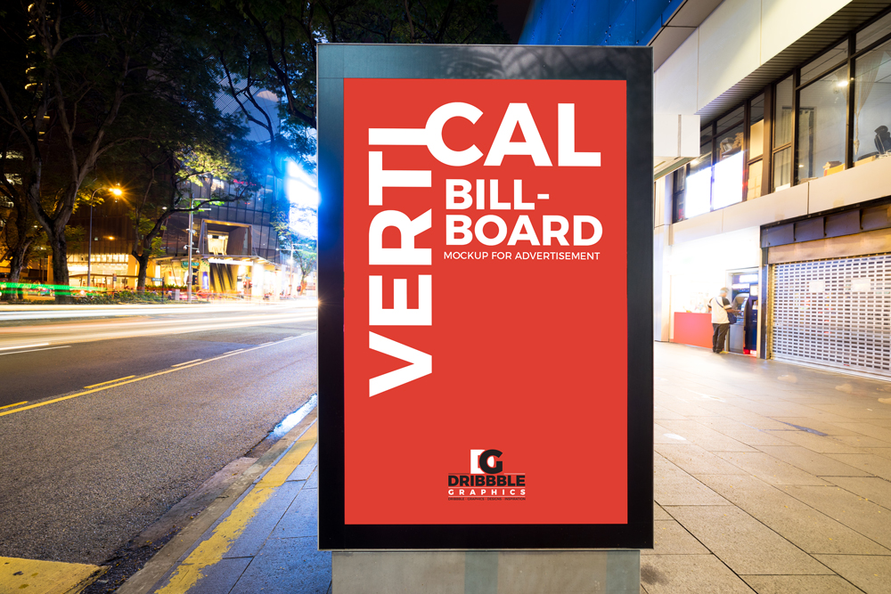 Free-City-Street-Vertical-Billboard-Mockup-For-Advertisement
