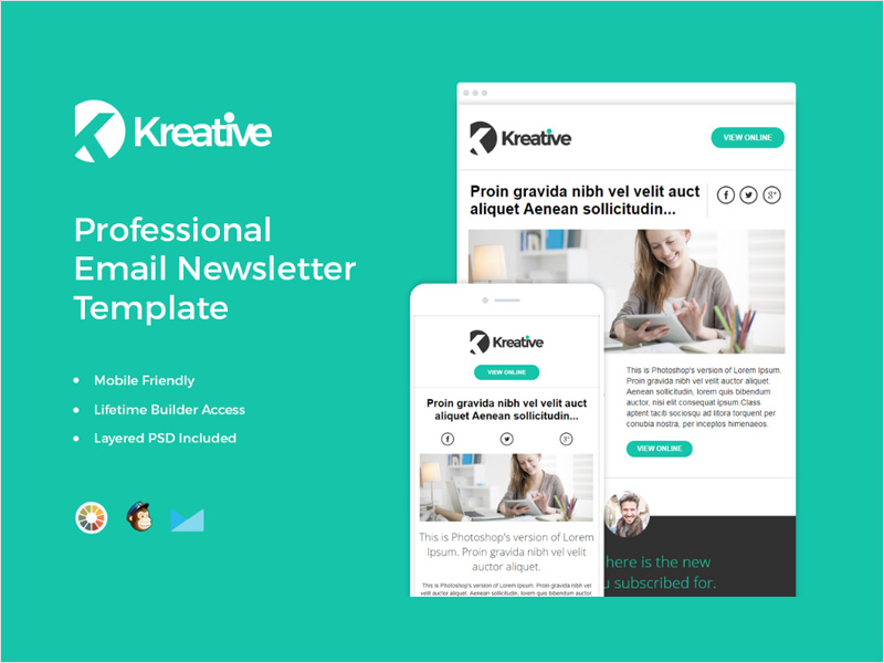 Free-Clean-&-Responsive-Email-Newsletter-Template