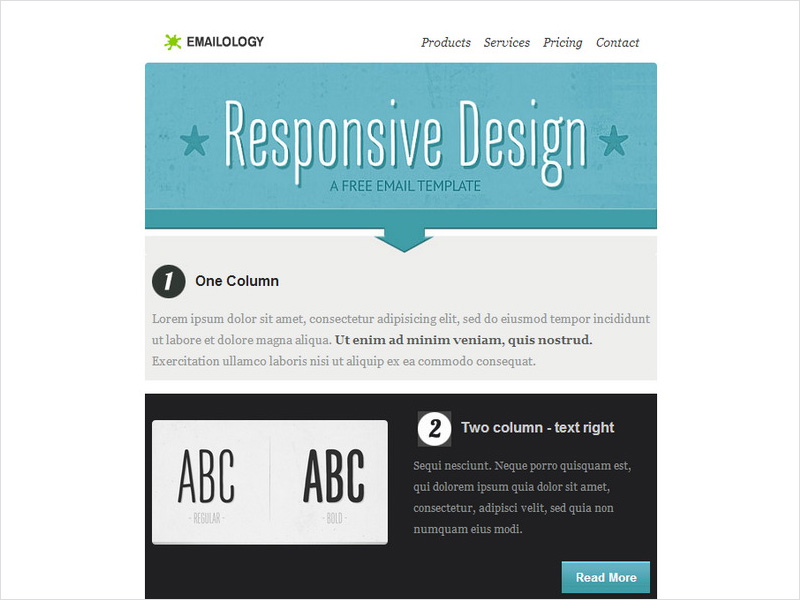free responsive email templates - 20 free email newsletter templates for 2018 dribbble
