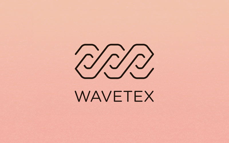 Logo-Wavetex-Textile-Logo-Design