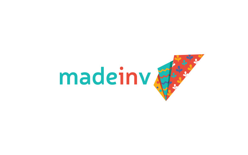 Made-in-V-Textile-Selling-Company-Logo-Design