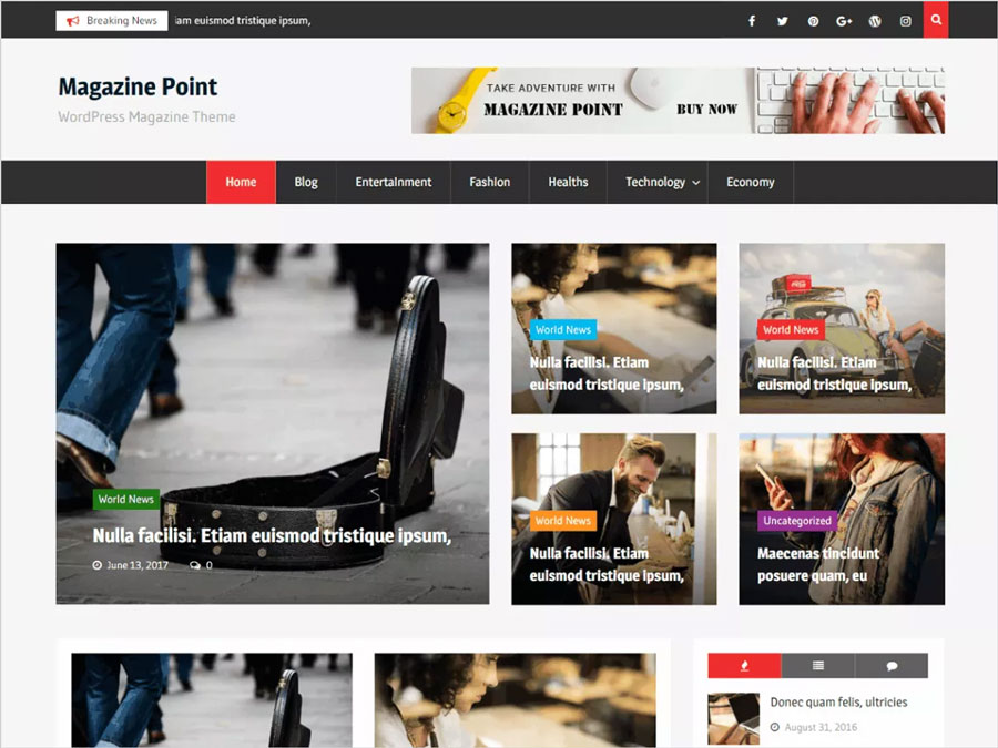 Magazine-Point-Free-WordPress-magazine-theme
