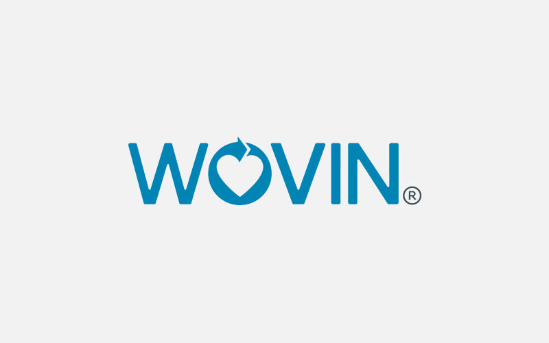 Wovin-Modern-Textile-Recycling-Company-Logo-Design