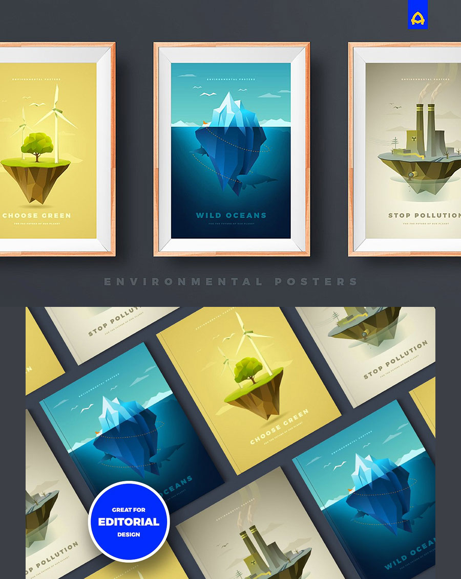 3-Creative-Environmental-Poster-Free-Templates