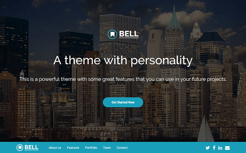 Bell-Free-Multipurpose-Bootstrap-4-Template