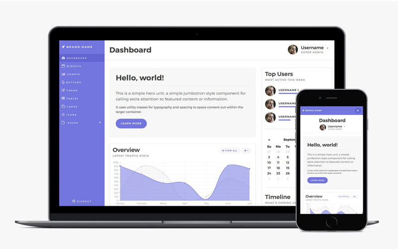 Bootstrap-4-Admin-Dashboard-Template-Freebie