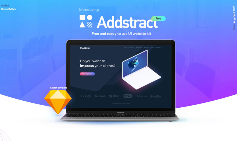 Free-Addstract-Ui-Kit