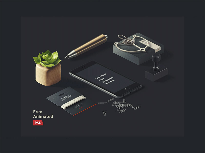 Free-Animated-Isometric-iPhone-Mockup