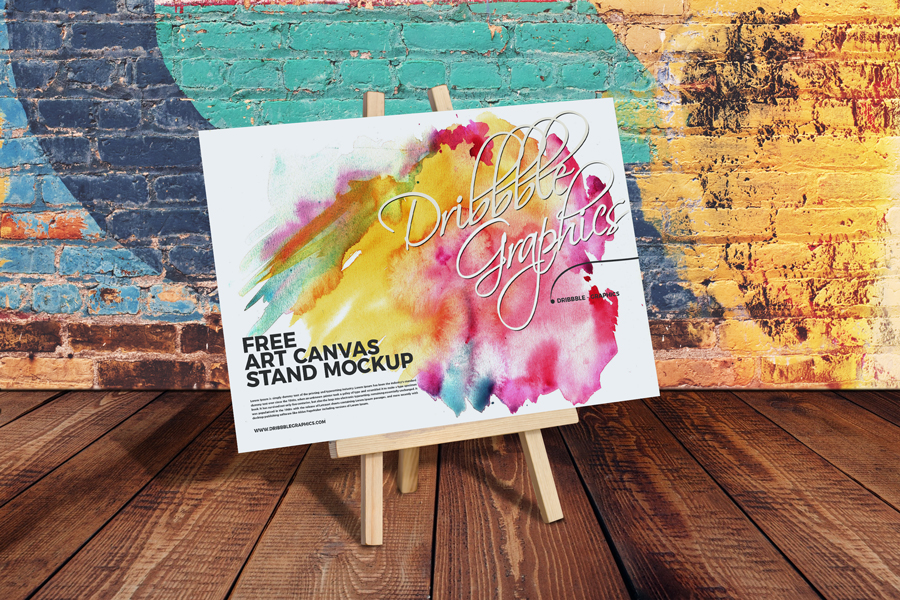 Free-Art-Canvas-Stand-Mockup-PSD
