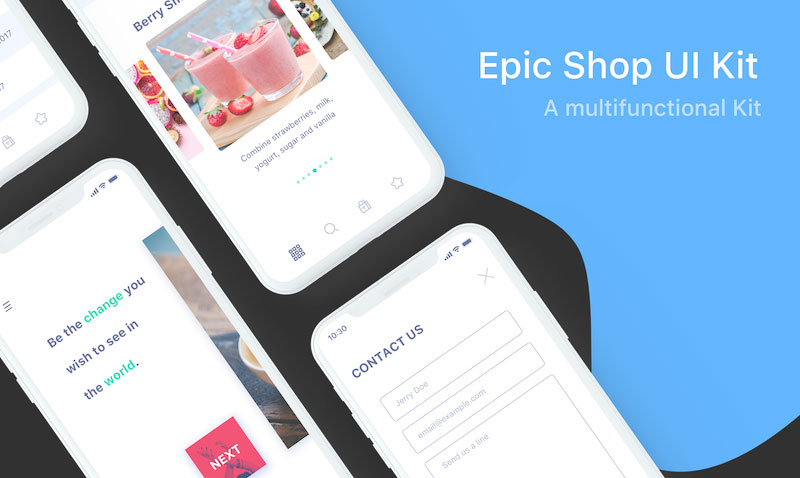 Free-iPhone-X-Epic-Shop-UI-Kit