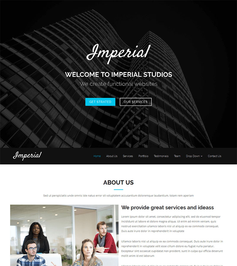 Imperial-Modern-and-Creative-Free-Onepage-Bootstrap-Theme