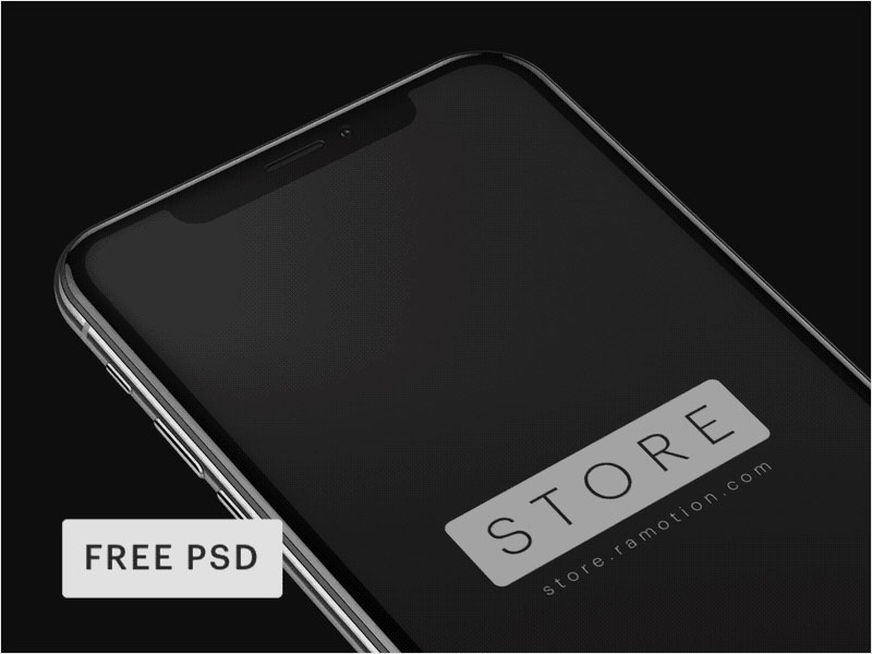 iPhone-X-Mockups-[PSD]