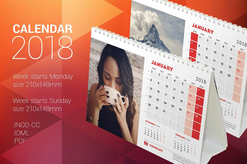 Desk-Calendar-2018-Vector-Templates
