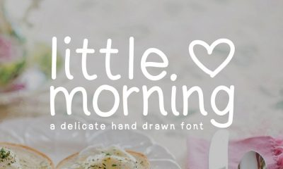 Free-Little-Morning-Hand-Drawn-Font-For-Designers