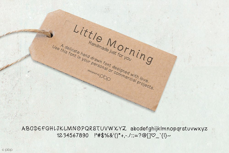 Free-Little-Morning-Hand-Drawn-Font-Preview-Image-2
