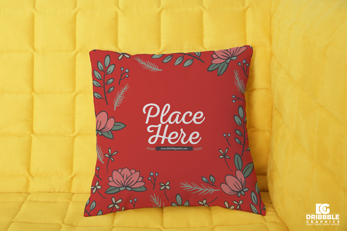 Free-Soft-Pillow-Psd-Mockup